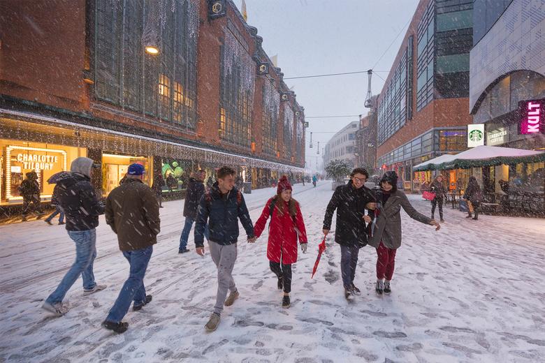 Winter in Den Haag -