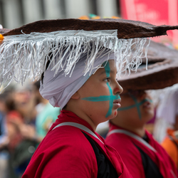 Zinnekes Parade in Brussel