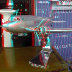 Vliegtuigmodel schiedamsedijk Rotterdam 3D GoPro