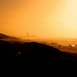 Scheveningse pier gezien vanaf Wassenaar