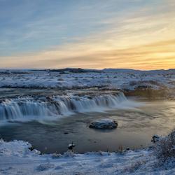 De Faxifoss in IJsland