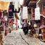 straatbeeld Albanië