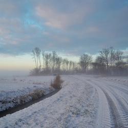 Een mooie winterochtend.