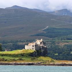 kasteel in de steigers