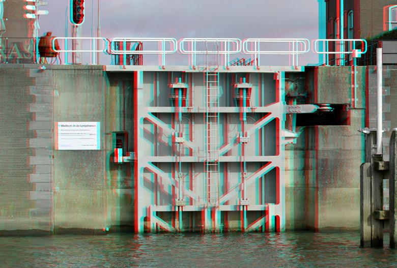 LingeSluis Gorkum 3D - LingeSluis Gorkum 3D<br /> anaglyph stereo<br /> D7000 cha-cha