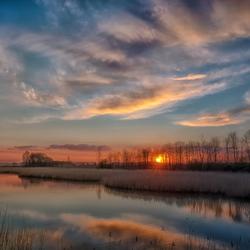 Zeeuwse sunset...