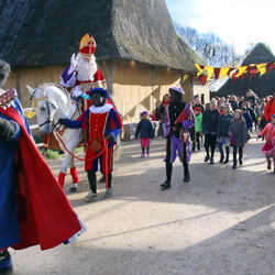 Sinterklaas in Archeon
