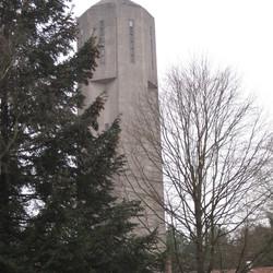 De watertoren van Radio Kootwijk