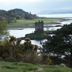Ruine van kasteel