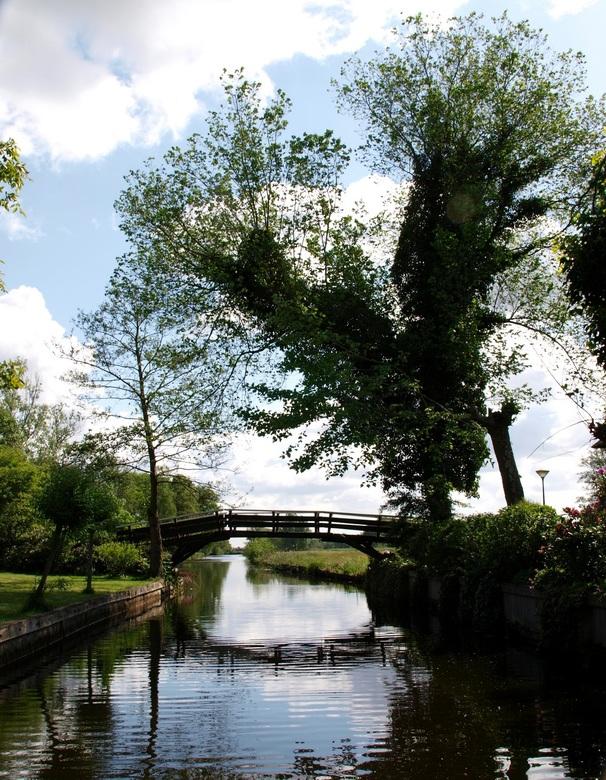 Giethoorn - Sfeerplaatje gemaakt in Giethoorn