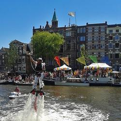 Gay-pride 2013, Amsterdam.