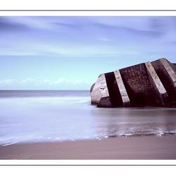 Atlantik Wall overblijfsel
