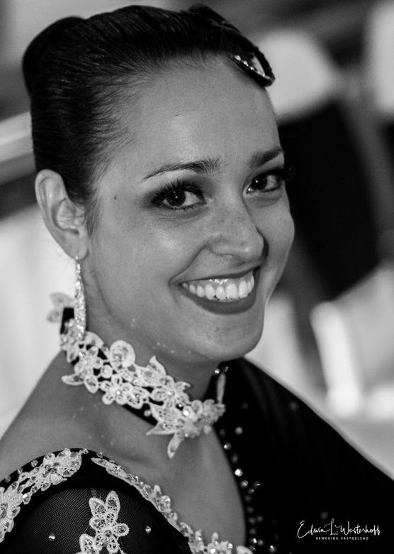 Ballroom dame - Portret dame ballroomdanswedstrijd