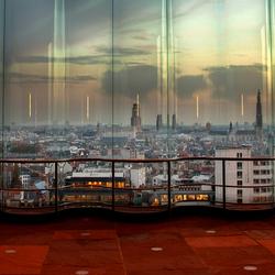 Antwerpen vanaf het MAS gebouw