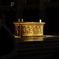 In de Sacre Coeur.