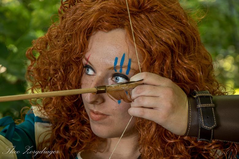 Merida_Closeup - Model: Robin Moscato<br /> Assistent: Kimberly