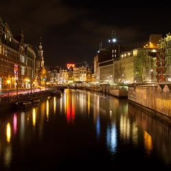 Bloemenmarkt by night