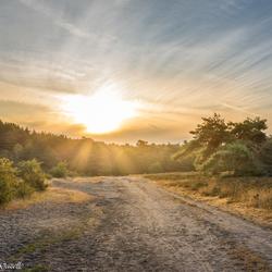 Brunssummerheide zonsopkomst zoom