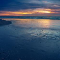 Sunset at sea (Den Helder)