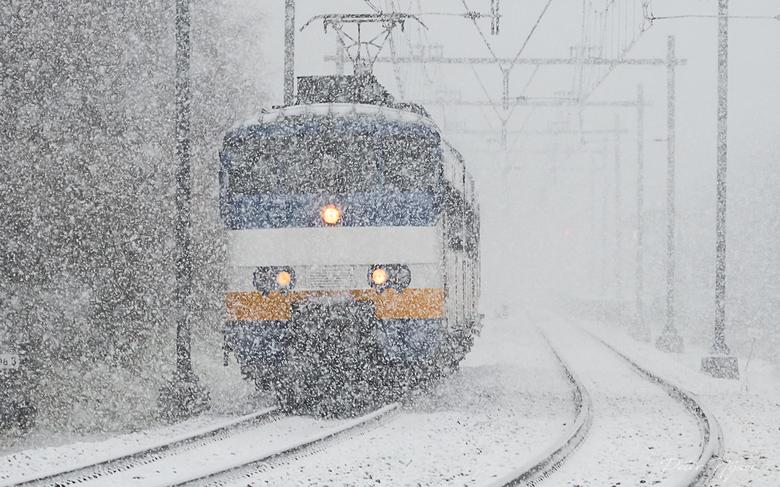 sneeuwsprinter -