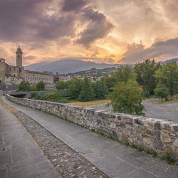 Romeinse Brug in Bobbio