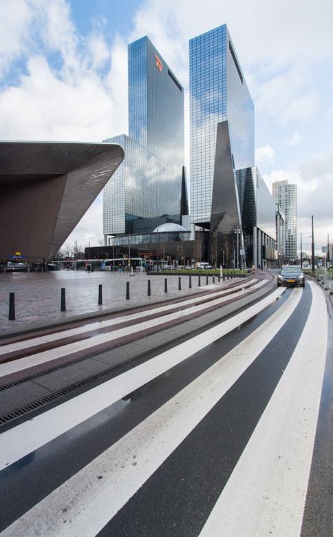 Rotterdam Centraal - Foto genomen bij het Centraal Station in Rotterdam.
