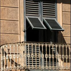 leeg balcon