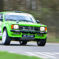Opel kadet visual art rally