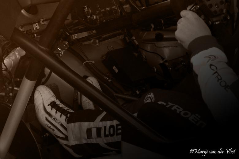 Winner! - WRC rally Spanje. Sébastien Loeb; voor de negende keer wereldkampioen voor Citroën