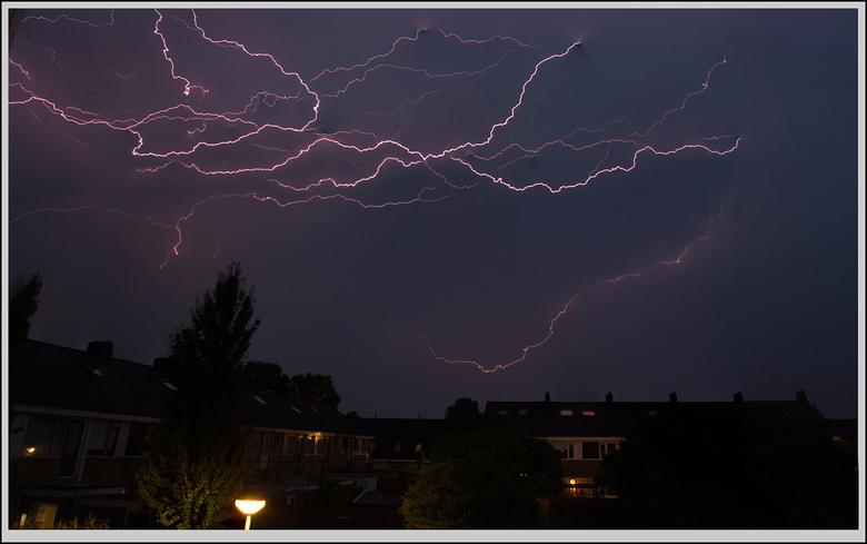 lightning stack - ook weer enkele bliksemse foto's op elkaar geplakt