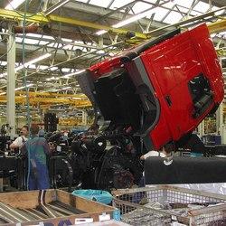 productielijn DAF XF