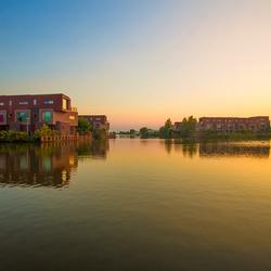 Zonsondergang Lelystad Haven