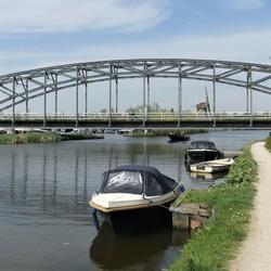P1060213 WSM TRAMbrug  1912 gaat in Onderhoud   23 april 2019