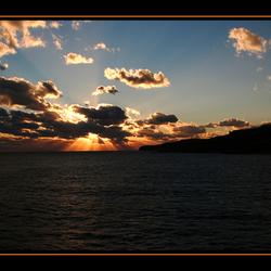 zonsondergang op Gozo
