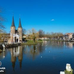 Delft - Oostpoort winter 2014 - 05 maart 2014