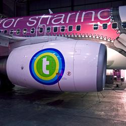 Boeing met rits