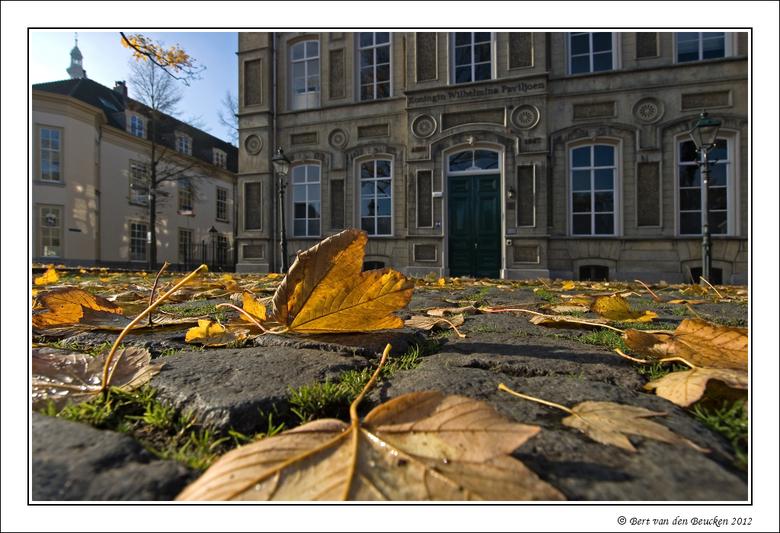 Koninklijke herfst  - Het monumentale bouwwerk 'Koningin Wilhelmina Paviljoen' in Breda is sinds 1867 getuige van de seizoenswisselingen. Zo