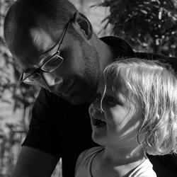 Evi & papa