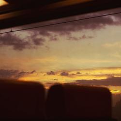 Vanuit de trein