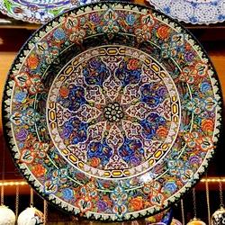 Turks aardewerkbord