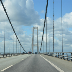Denemarken Storebaelt bridge