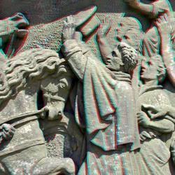 detail Monument 1813 Den Haag 3D