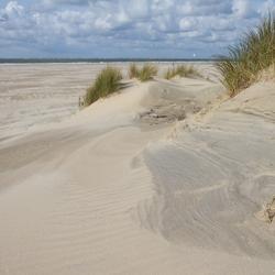 Duinvorming op het strand