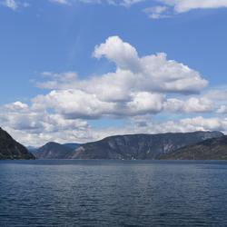 Sognefjorden Noorwegen
