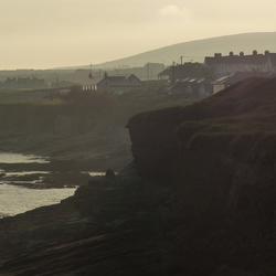 Zonsondergang Ierland