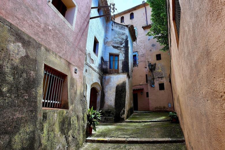 Spaans dorpje. - Spaans dorpje Catalunya.