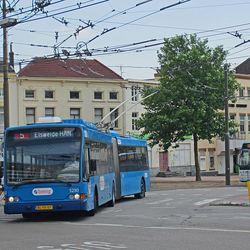 Trolly bussen Arnhem