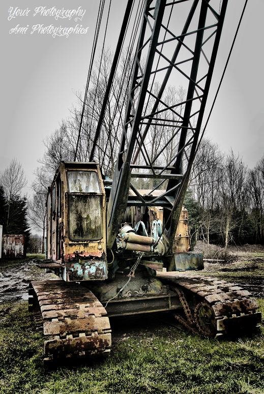 Clear the History to Build a New Future - Old Crane in HDR / Urbex 2011<br /> Fotografie: www.Your Photography.nl<br /> Retouch HDR: www.AmiPhotogra
