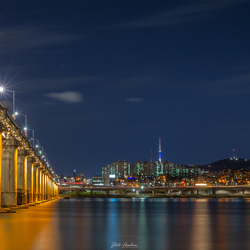 Banpo Bridge & N Seoul Tower