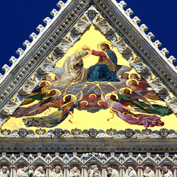 Duomo Siena detail